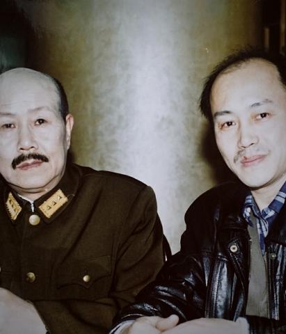 向孙飞虎老师讨教扮演蒋介石的秘籍